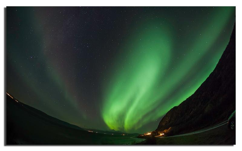 1. We were lucky to have some Aurora near Tromsø.