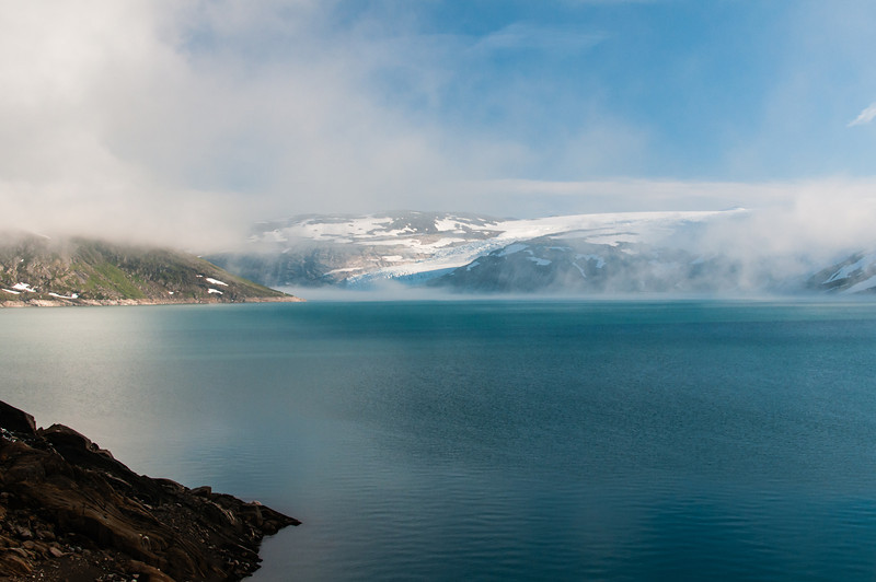 glacier, norvège.