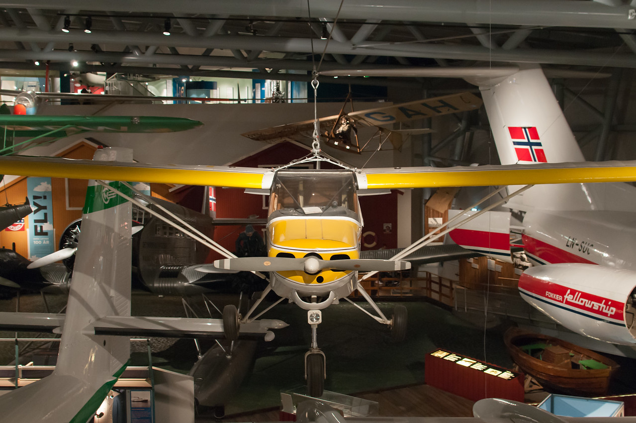 Bodo, musée de l'aviation.