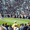 ND Marching Band takes to the field (pre-game)