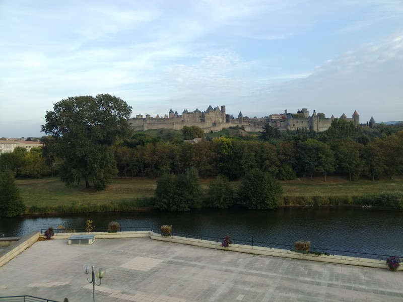 View form the Trois Couronnes, Carcassonne