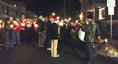 Hundreds filled the streets of Oley on Saturday, Dec. 21, for the 2013 Christmas in the Valley.
