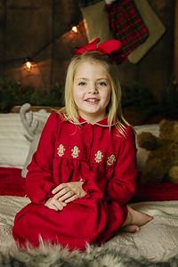 Olivia & Lyla Christmas 17