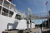 Chi-Cheemaun docking at Tobermory