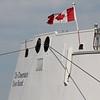 Chi-Cheemaun docked at Tobermory