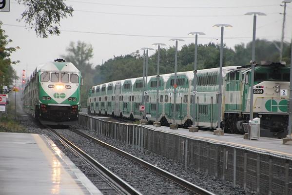 Trains at Port Credit