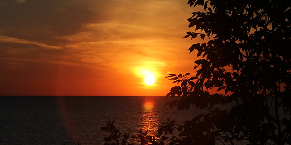 Port Elgin Sunset - 25 September 2015