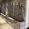 Water feature in reception