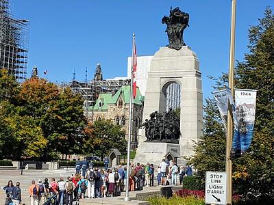 Canadian National War Memorial 17 September 2019