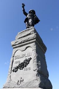 Champlain Statue, Nepean Point, Ottawa 16 September 2020