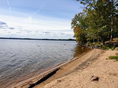 Golden Lake at Deacon, ON 18 September 2019