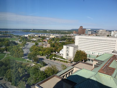 Looking north west towards Ottawa River.