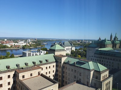 View towards Federal Parliament