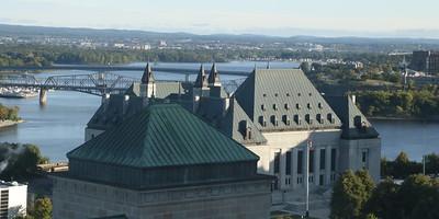 Looking north east towards Ottawa River