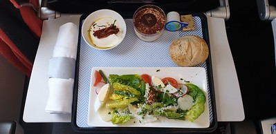 On G-EUPS (BA1483 to LHR), Egg Salad on the flight to London