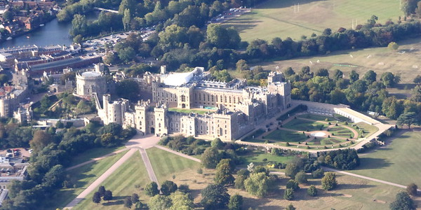 THe view of Windsor Castel from G-VIIK (BA99 to YYZ)