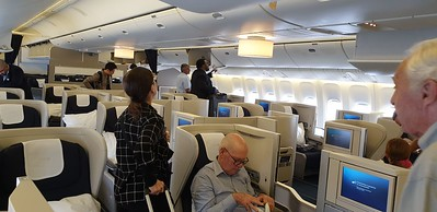 On G-VIIK (BA99 to YYZ), the Club World Cabin