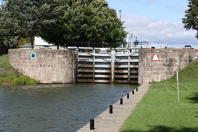 Lower Brewers Lock, Rideau Canal 14 September 2019