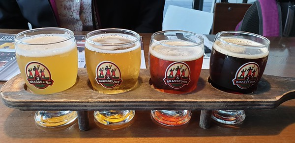 The 3 Brewers, Sparks Street, Ottawa  15 September 2019