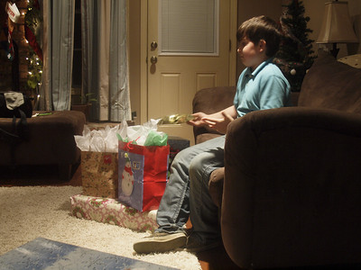 Opening presents 12/24/12