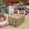 Chase is checking out all the boxes.