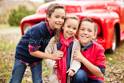 Orren Family Red Truck