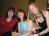 Fi, Rachel and Ulrika in Ruby Blue Bar