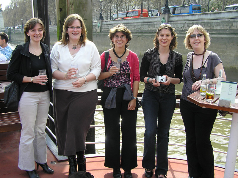 On the Tattersall - Rachel, Clair, Nic, Hen, Kez