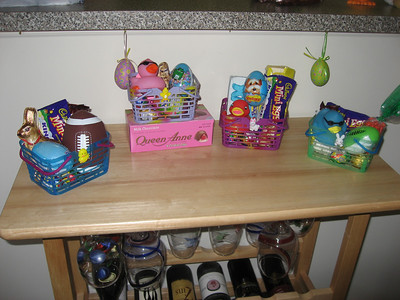 Easter baskets for everyone!