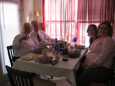 The Easter Dinner guests!