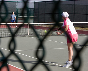Irene cracks a backhand