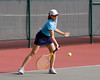 Scooping a low forehand