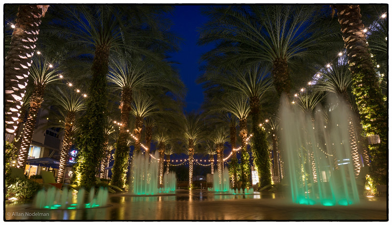 Fountain at Scottsdale Quarter