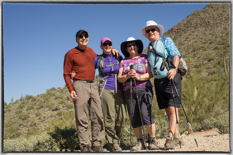 Gateway Hike With Brenda and Andy (February 13, 2015)
