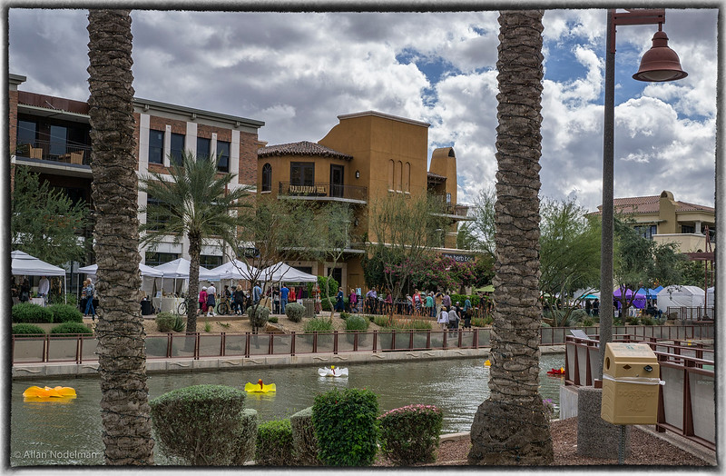 Arts and Crafts Fair Along the Canal in Downtown Scottsdale,  (March 1, 2015)