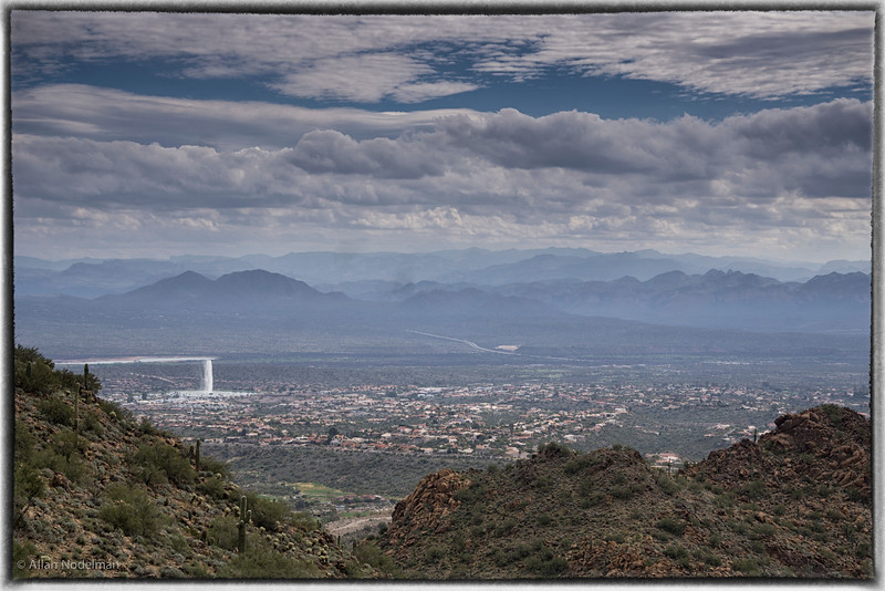 Fountain Hills From Sunrise Trail