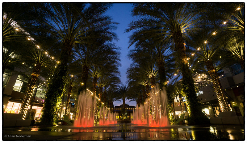 Fountain at Scottsdale Quarter (February 23, 2015)
