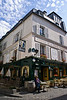 A little pub on the mountain of the Sacre-Ceure, Paris, France.
