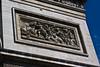 Statues on the Arc de Triompe, Paris, France.
