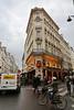 Paris 2013 - Quartier Latin at Night - Cafe Near Our Hotel