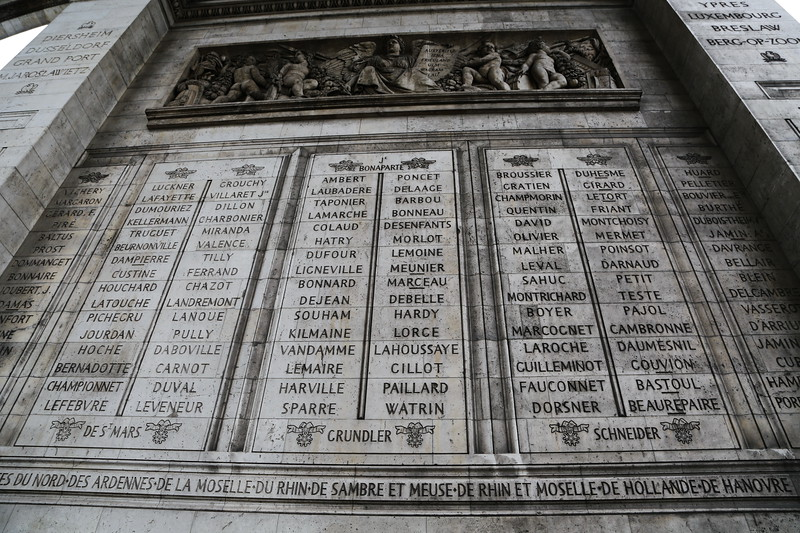 Paris 2013 - Arc de Triomphe - Battle Listings