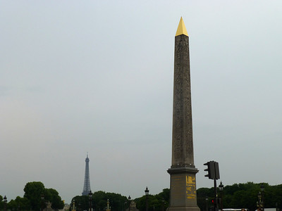 Obelisk at Place de la Concorde