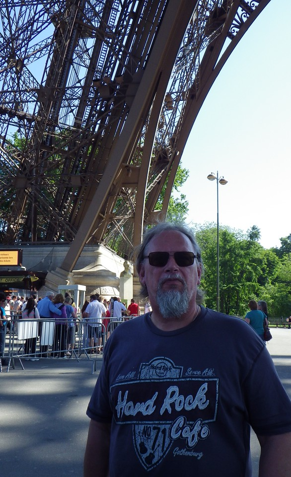 Eiffel Tower and me