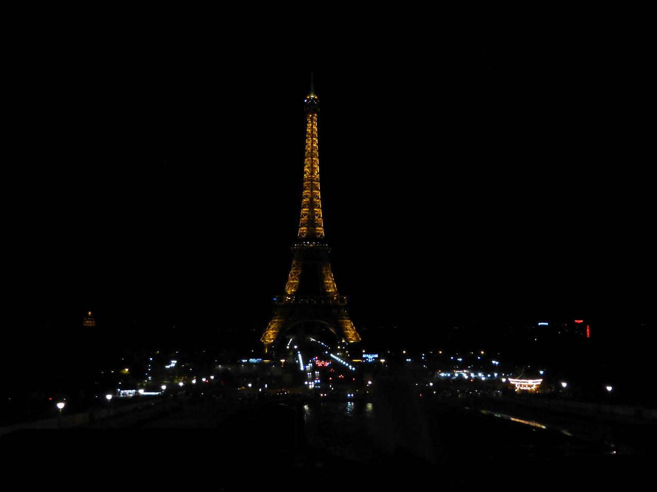 Eiffel Tower, view from Trocadéro