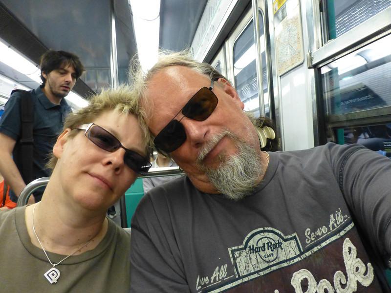 Awww at the Metro