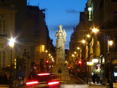 Place Pigalle, surely a famous statue