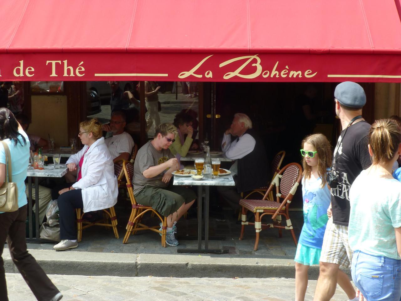 Monmartre, La Bohème
