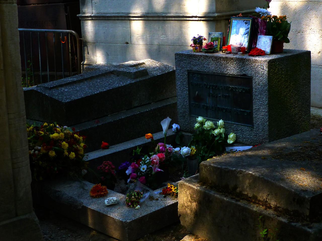 Jim Morrison RIP, Père-Lachaise