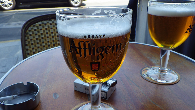 Beer at Cafe Voltaire