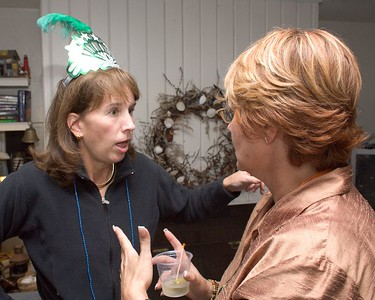 Annette tells Barb how she collected all those beads.